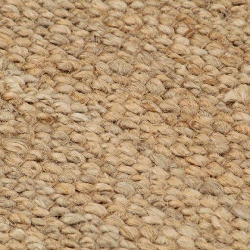 vidaXL håndvævet jutetæppe 120 x 180 cm naturfarvet