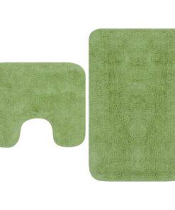 vidaXL bademåttesæt i 2 dele stof grøn