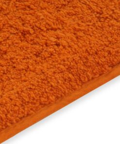 vidaXL bademåttesæt i 2 dele stof orange