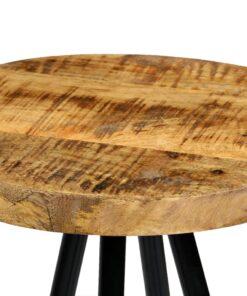 vidaXL barstole 4 stk. massivt mangotræ