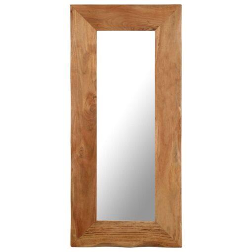 vidaXL kosmetikspejl 50 x 110 cm massivt akacietræ