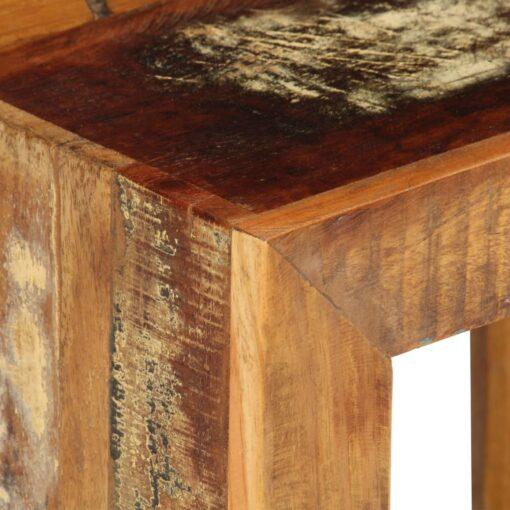 vidaXL skammel 40 x 30 x 40 cm massivt genanvendt træ