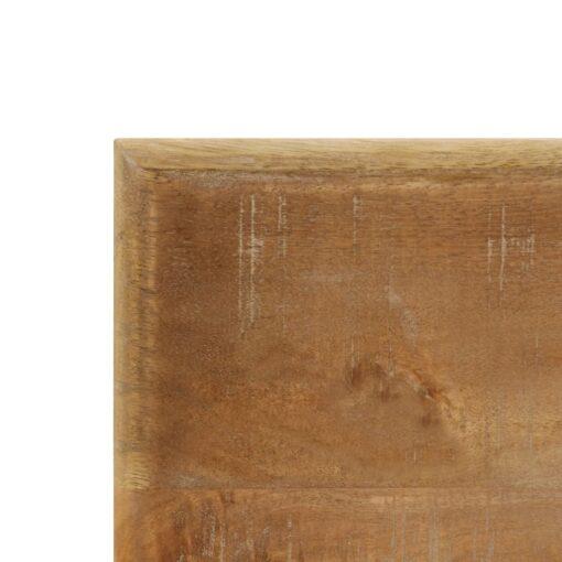 vidaXL spisebord 120 x 60 x 76 cm massivt mangotræ