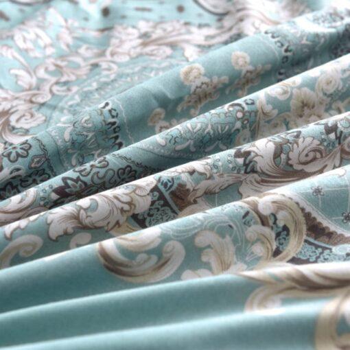 vidaXL sengesæt 155×200/80×80 cm klassisk design blå