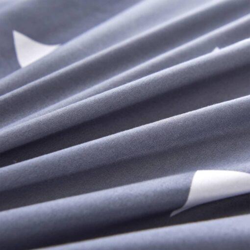 vidaXL sengesæt trekantsdesign 155×200/80×80 cm grå