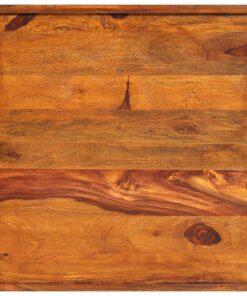 vidaXL serveringsbakke massivt sheeshamtræ 50 x 50 cm