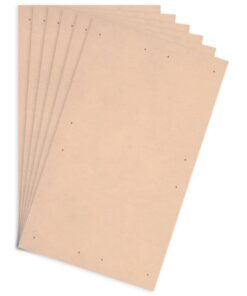 vidaXL plakatplader 10 stk. DIN A1-størrelse HDF 860 x 620 x 3 mm
