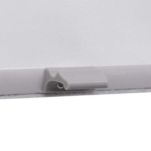 vidaXL mørklægningsrullegardin hvid PK08