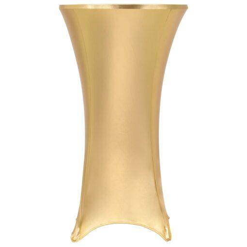 vidaXL borddug 2 stk. stræk 60 cm guldfarvet
