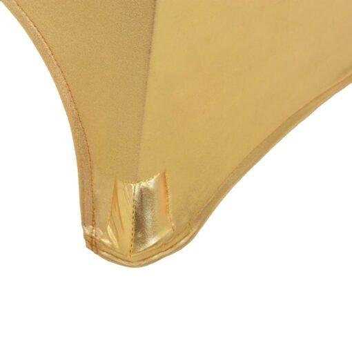 vidaXL borddug 2 stk. stræk 70 cm guldfarvet