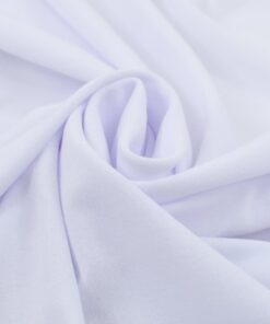vidaXL strækbare bordduge med skørt 2 stk. 180 x 74 cm hvid