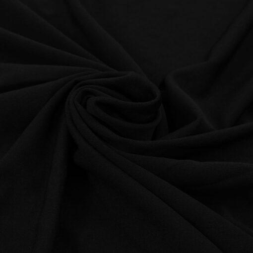 vidaXL strækbare bordduge med skørt 2 stk. 150 x 74 cm sort