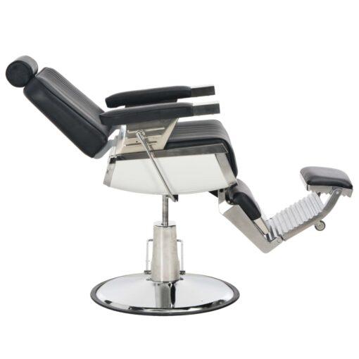 vidaXL frisørstol sort 68 x 69 x 116 cm kunstlæder