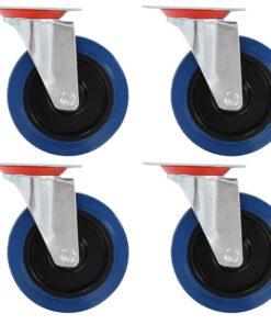 vidaXL drejehjul 4 stk. 125 mm