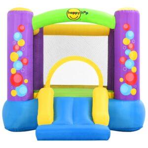 Happy Hop oppustelig hoppeborg med rutsjebane 260 x 210 x 160 cm PVC