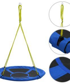 vidaXL gynge 110 cm 150 kg blå