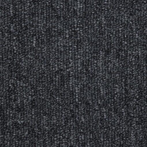 vidaXL 15 stk. trappemåtter 56 x 17 x 3 cm antracitgrå