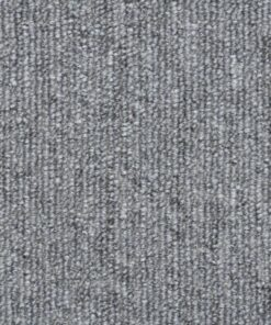 vidaXL 15 stk. trappemåtter 56 x 17 x 3 cm lysegrå