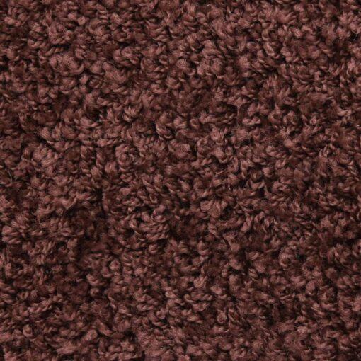 vidaXL 15 stk. trappemåtter 56 x 20 cm brun