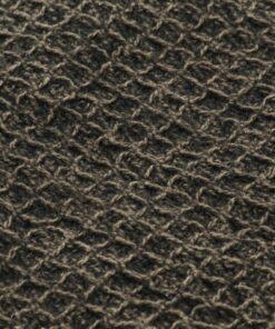 vidaXL plaid 220 x 250 cm bomuld antracitgrå/brun