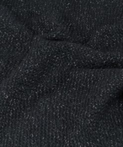 vidaXL plaid 160 x 210 cm lurex antracitgrå