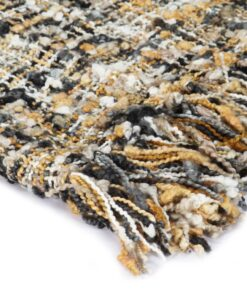vidaXL plaid 125 x 150 cm sort/beige/hvid