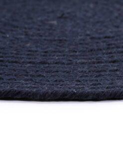 vidaXL dækkeservietter 4 stk. 38 cm rund bomuld marineblå