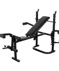 Fitness-bænk foldning