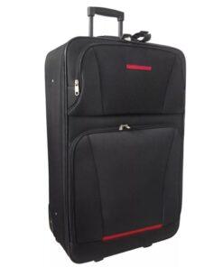 vidaXL kuffertsæt i fem dele sort