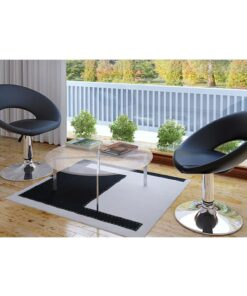 Lounge Chair 2-pak sort Toulouse
