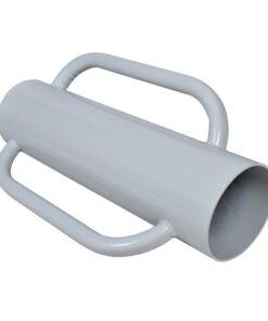 vidaXL nedslagningsrør med håndtag stål
