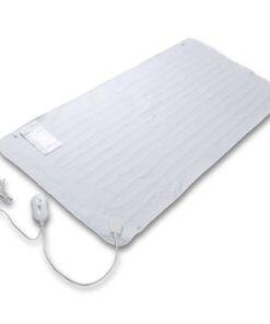 vidaXL blødt elektrisk varmetæppe vaskbart 150 x 70 cm