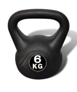 Kettlebell workout 6 kg
