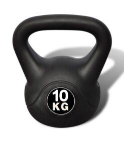 Kettlebell plast skal 10 kg