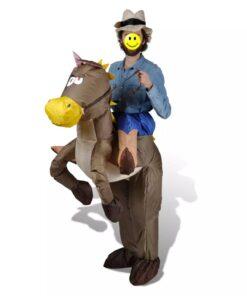 Cowboy Utkledning Kostume Oppustelig Unisex