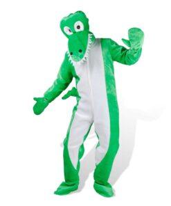 Unisex Utkledning Kostume Crocodile ML