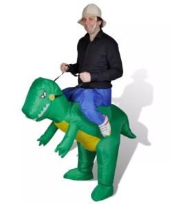 vidaXL oppusteligt dinosaur-kostume