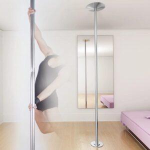 vidaXL højdejusterbar polestang til poledance