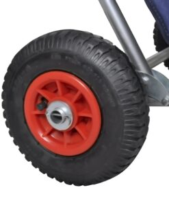 vidaXL strandvogn med hjul sammenfoldelig blå