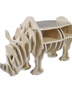 Trænæsehorn til brug som boligdekoration, hylde, bogreol, sidebord