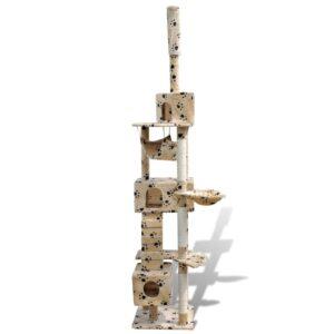 Kattetræ 220-240 cm med 3 huse