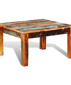 vidaXL sofabord firkantet genanvendt træ