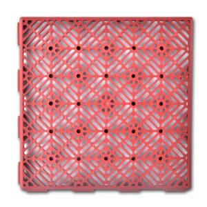40918 Plastik fliser til haven 29 x 29 cm, 24 stk.