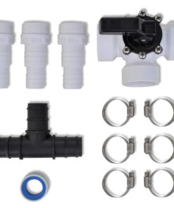 vidaXL bypass-kit til soldrevet varmeapparat pool
