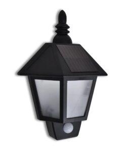 41182 Sol Væglampe med Bevægelsessensor