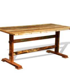 vidaXL spisebord vintagestil genanvendt træ