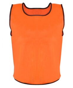 10 stk Orange Sport Bib Senior
