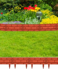 Græsplæne Geleren med Mursten Design