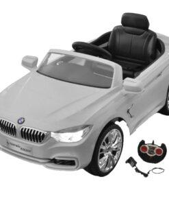 BMW Batteridrevet Kids Bil med fjernbetjening Hvid