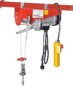 vidaXL elektrisk hejseværk 1000 W 200/400 kg